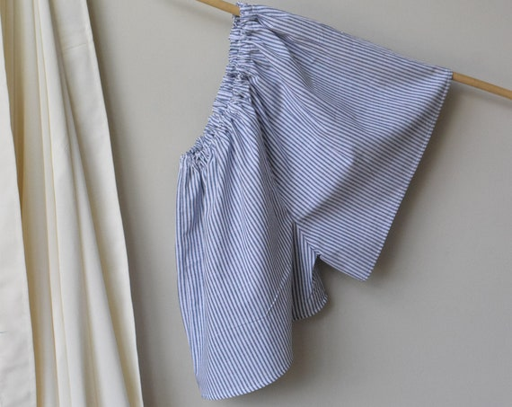 Cotton Pinstripe House Short