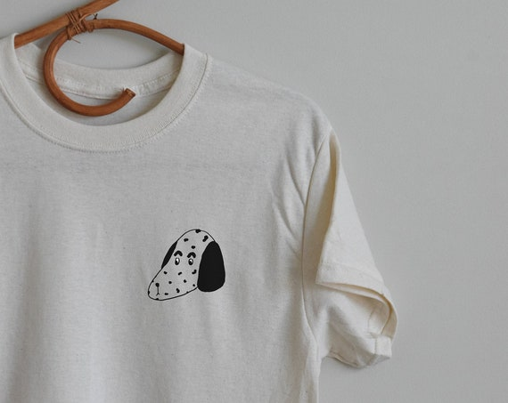 Spotted Dog Pocket Tee  |  Multiple Color Options