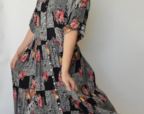 Paisley & Floral Market Dress
