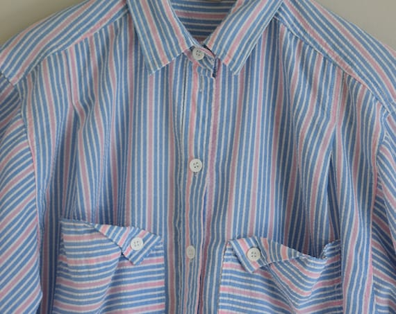 Woodwards Candy Stripe Blouse