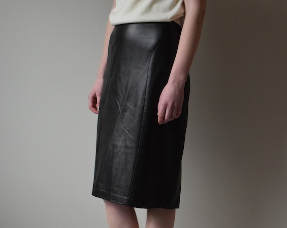 Danier Leather Pencil Skirt