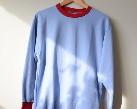 Sky Blue Pullover Sweater