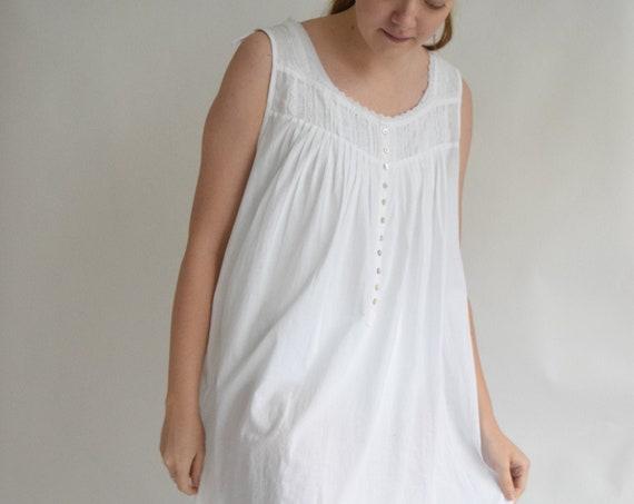 White Prairie Lounge Dress