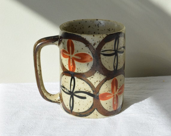 70's Speckled Coffee Cup