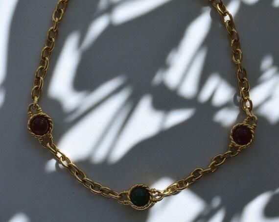 Bejeweled Choker Chain