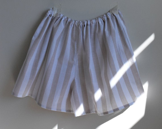 Pinstripe Linen House Short