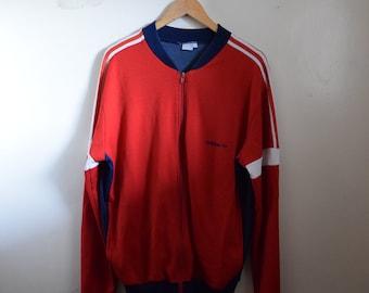 0b0c9fafee34 Vintage 90s Adidas Track Jacket