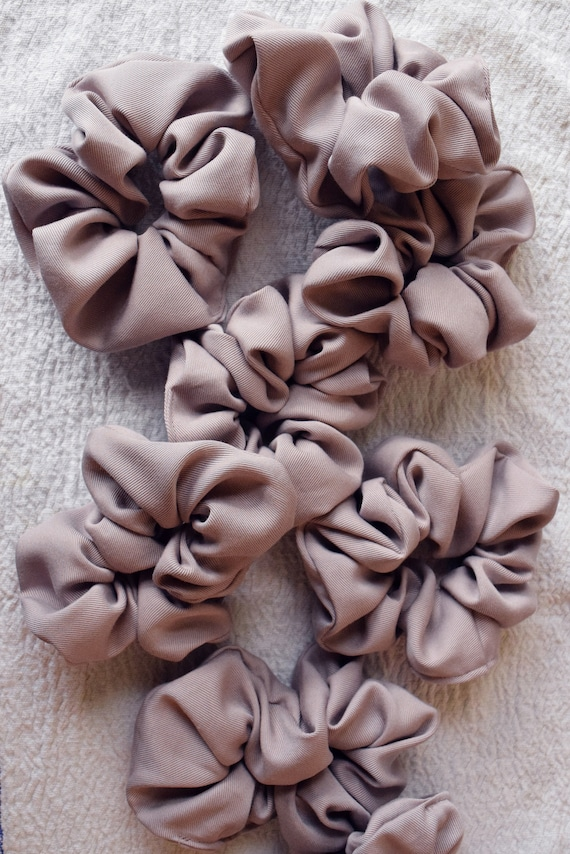 Dusty Lilac Hair Scrunchy