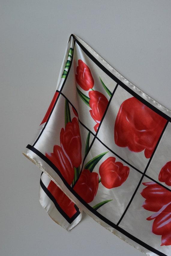 Satin Tulip Scarf