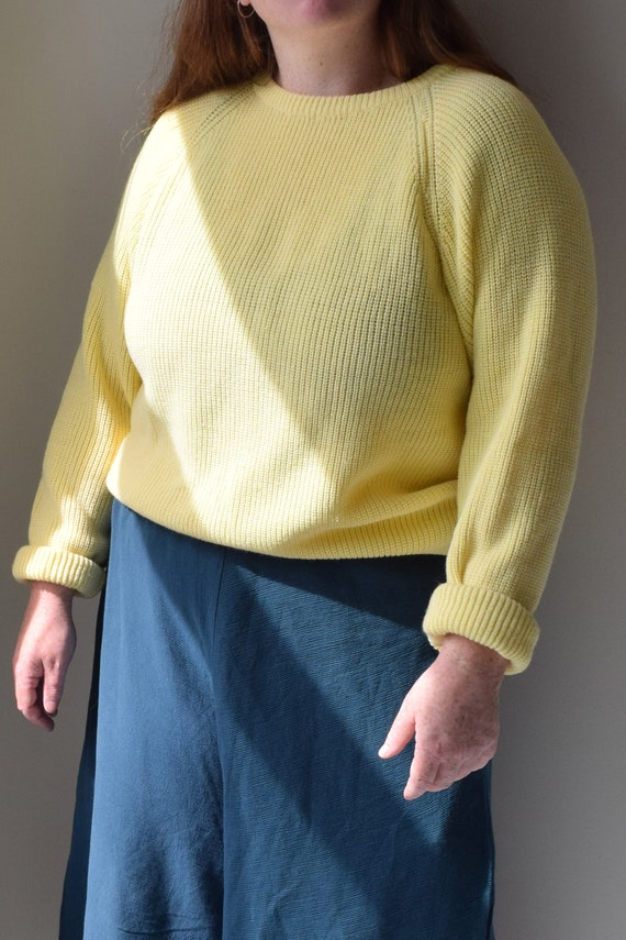 Banana Slouchy Pull Over Jumper