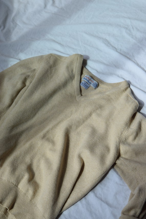 Scottish Cashmere V-Neck Sweater