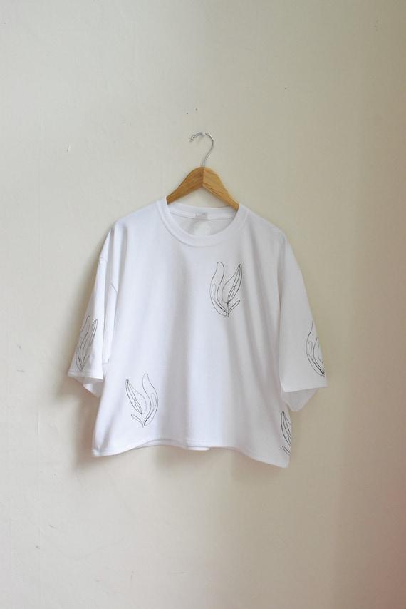 Lilja  3/4 Sleeve Cotton Jersey Tee