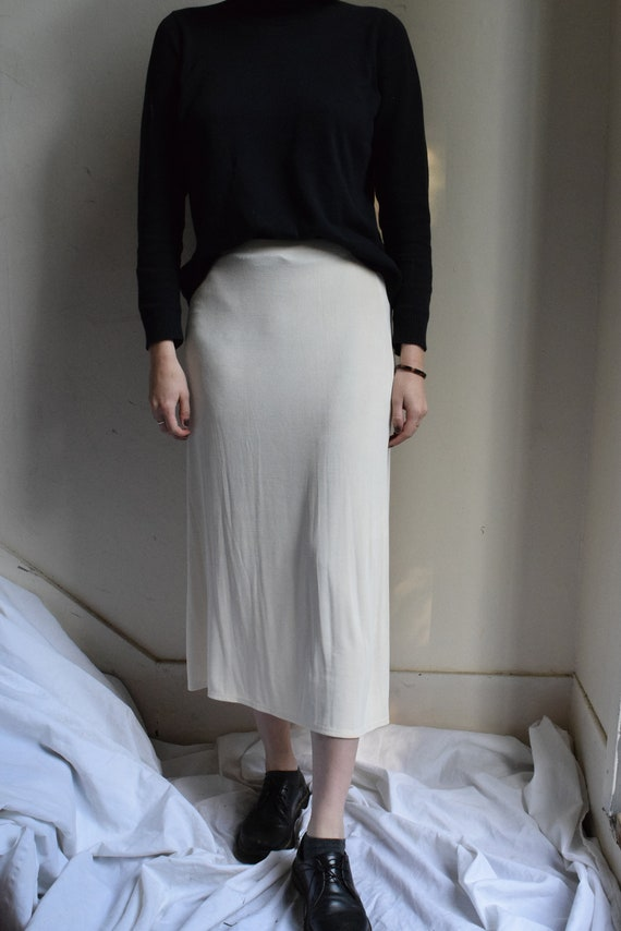 Pearl Acetate Skirt     Print Optional