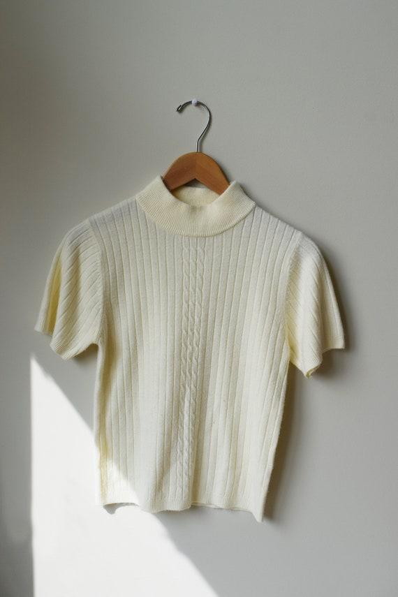 Vanilla Knit Short Sleeve
