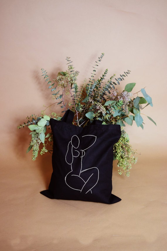 Nudie Cotton Canvas Tote Bag