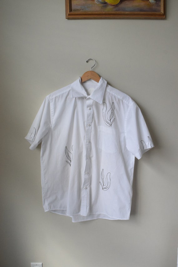 Lilja White Cotton Short Sleeve
