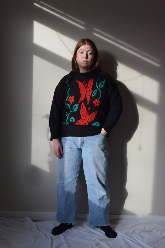 Butterfly Pull Over Sweater