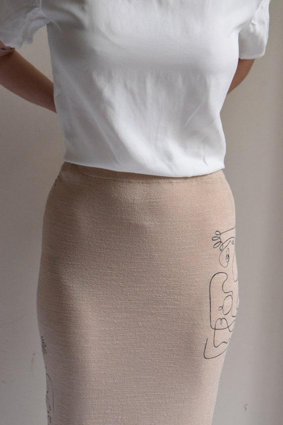 Maxi Skirt Skirt Maxi Reina Knit Reina Knit wv6qB