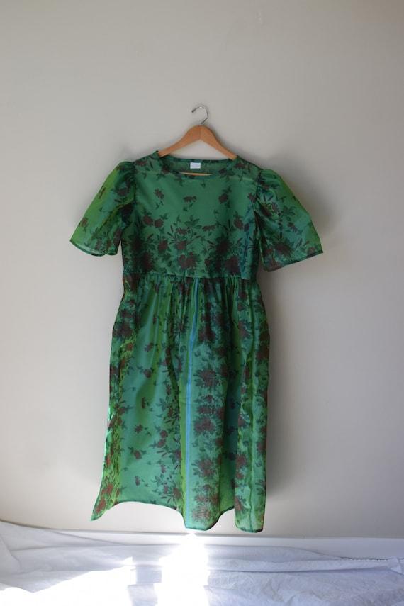 Sheer Garden Party Dress