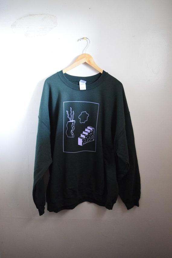 Kida Forrest & Lavender Unisex Sweatshirt