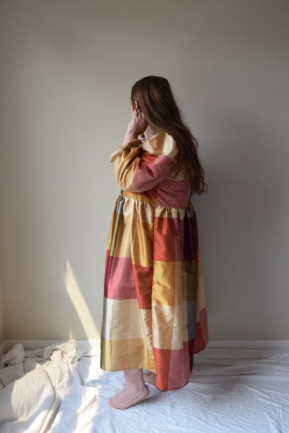 Long Sleeve Puff Sleeve Dress
