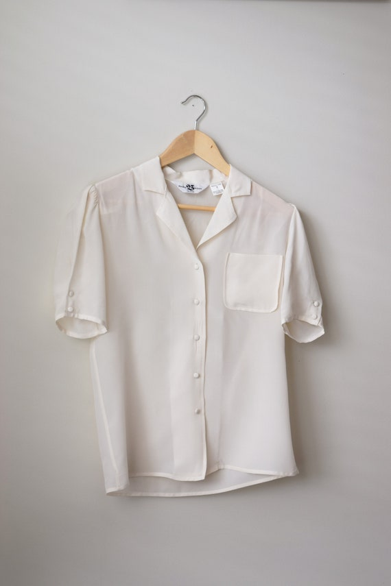 Vanilla Silk Bay Blouse