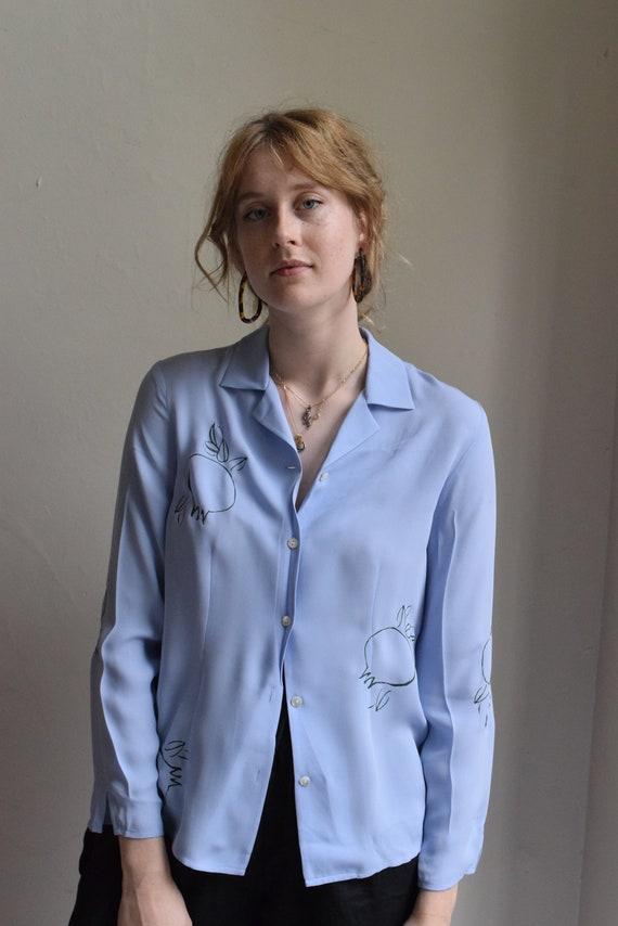 Rodie Baby Blue Long Sleeve Shirt.