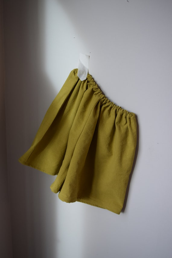 Pistachio Cotton Lounge Short