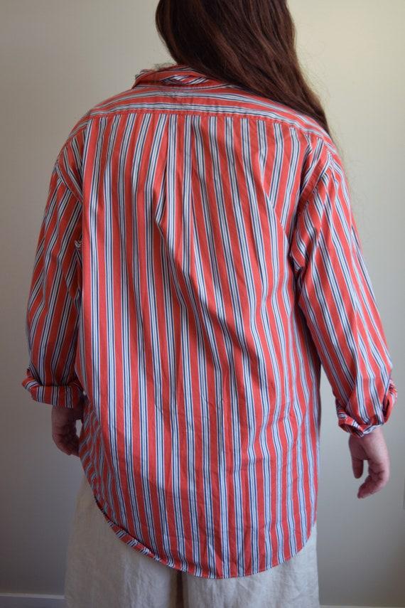 Ralph Lauren Pinstripe Lounge Shirt - image 6