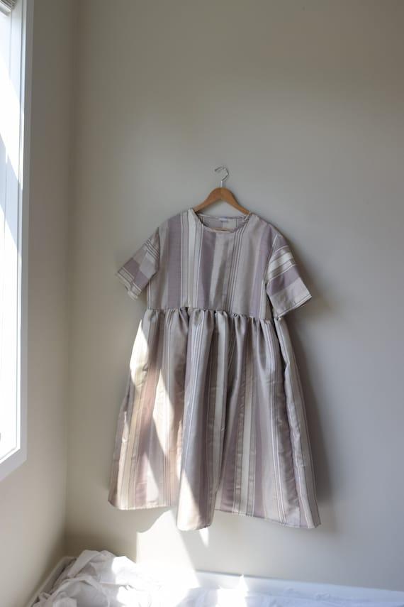 Pinstripe Garden Dress