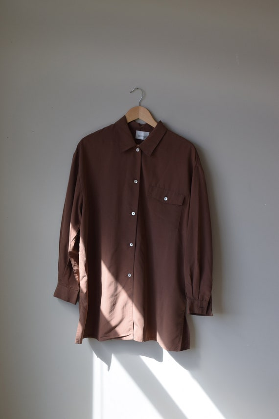Walnut Button Down