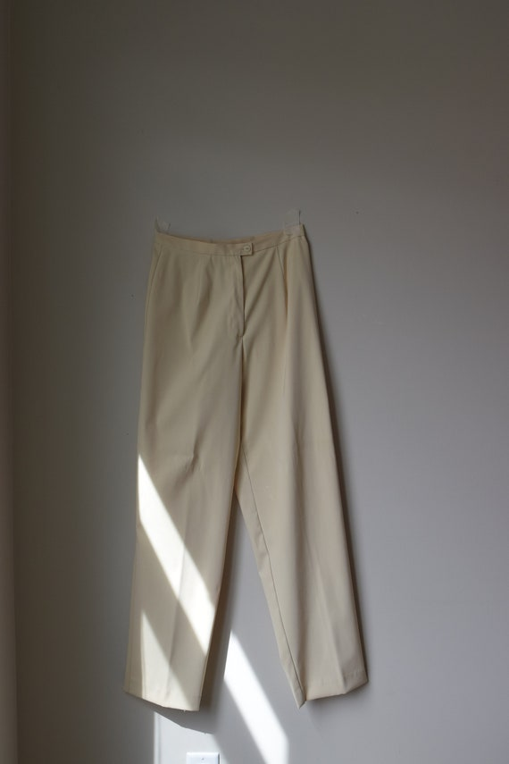 Anne Klein High Waisted Trouser