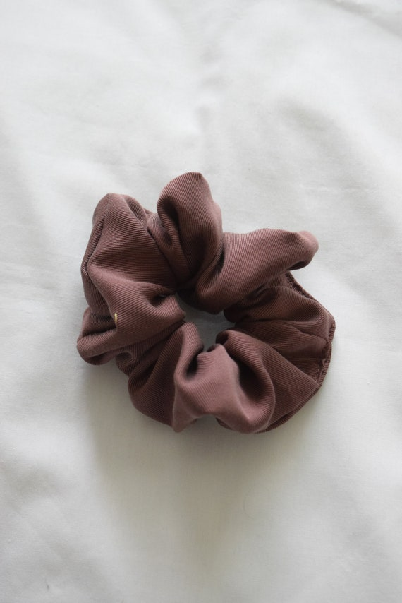 Plum Hair Scrunchie