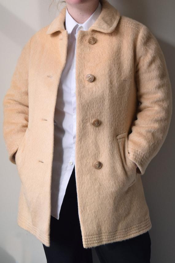 Vintage Hudson Bay Wool Overcoat