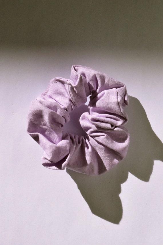 Lavender Hair Scrunchie     Add-on Item