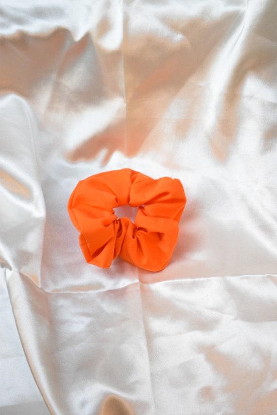 Tangerine Hair Scrunchies      Add-on Item