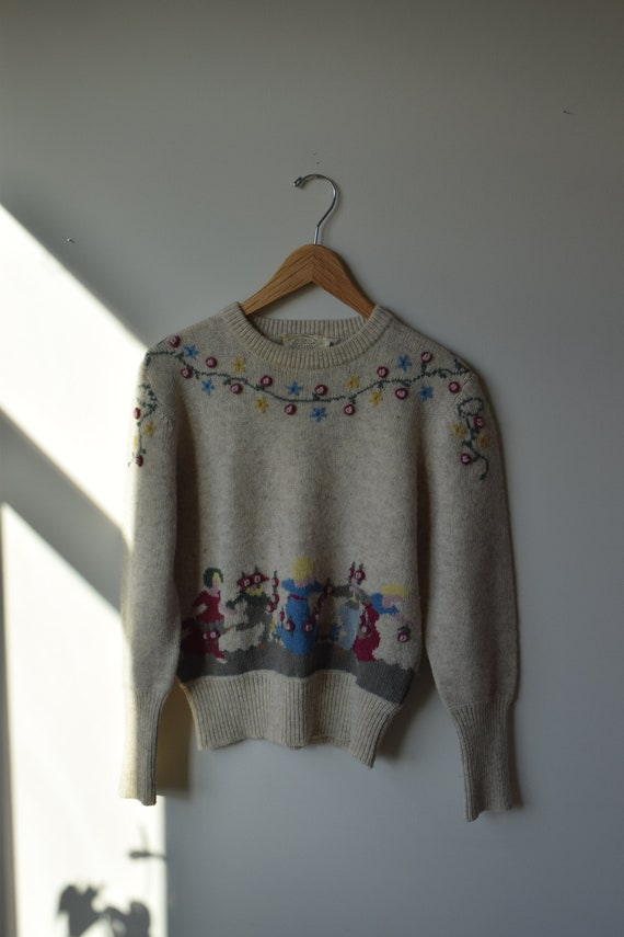 Wool May Pole Jumper