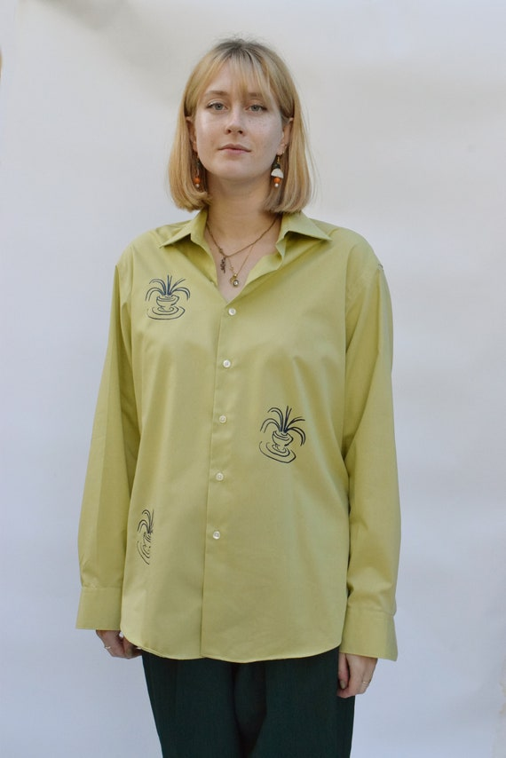 Artichoke Vessel Cotton Shirt