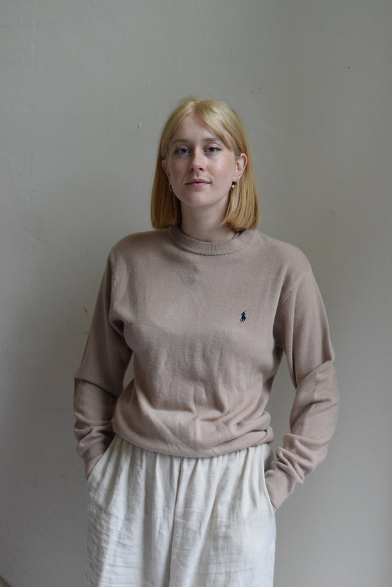 Vintage Polo Cashmere Pullover