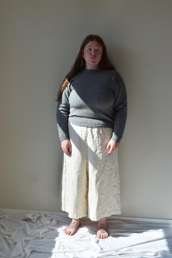 Grey Woolrich Lambswool Jumper