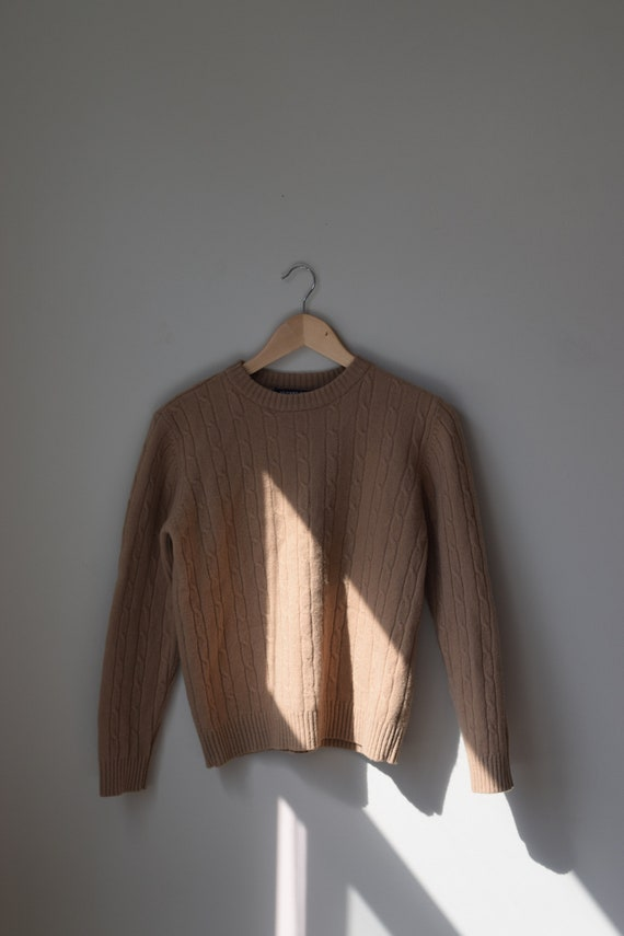 Wool Cableknit Pull Over