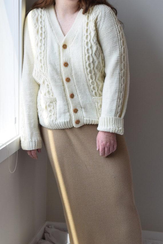 Chunky Handknit Cardigan