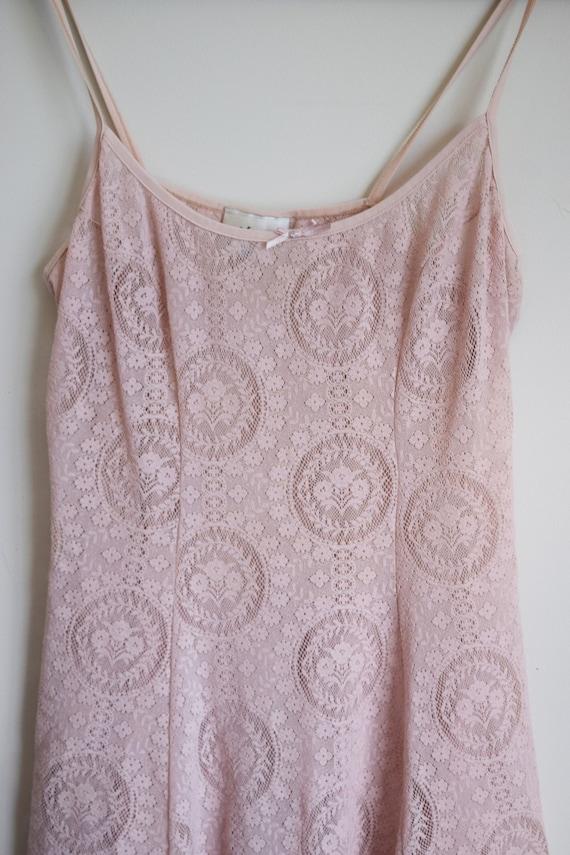 Mesh Slip Dress