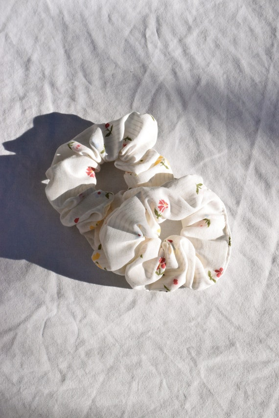 Wildflower Hair Scrunchie