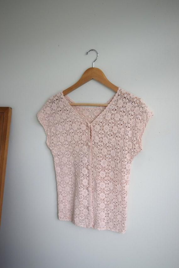 Rose Crochet Blouse
