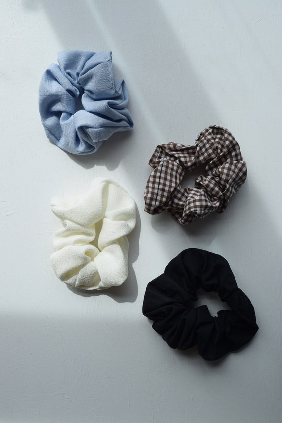 Assorted Scrunchie Four Pack