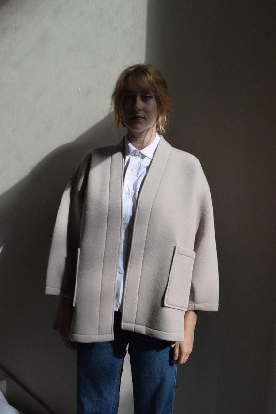 Oat Half-Kimono Jacket