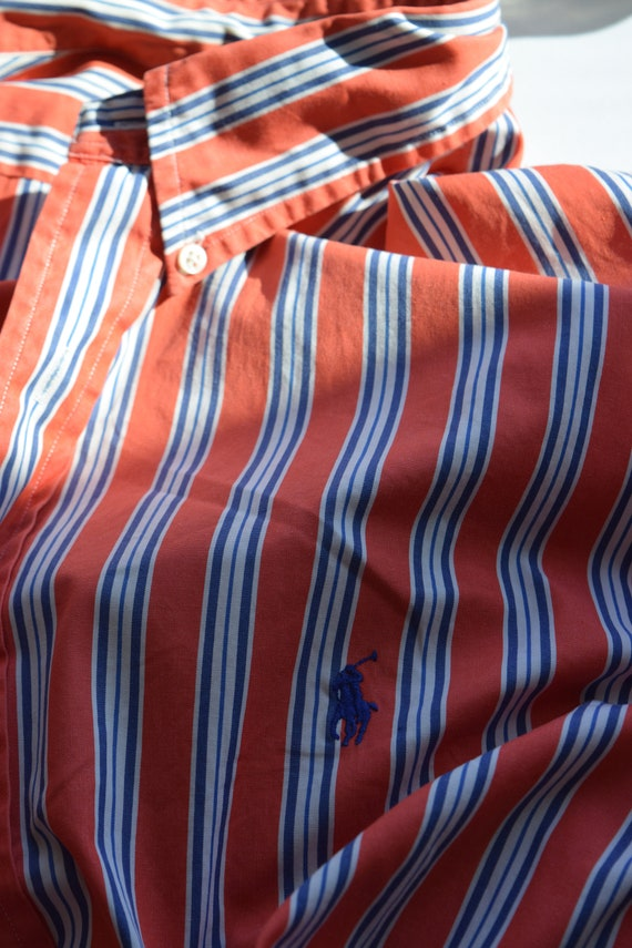 Ralph Lauren Pinstripe Lounge Shirt - image 2