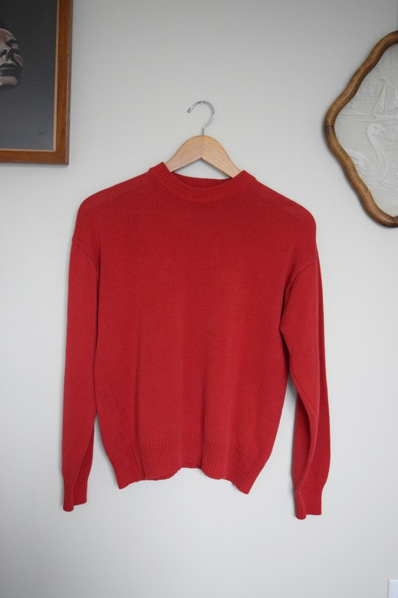 Cranberry Pull Over Sweater