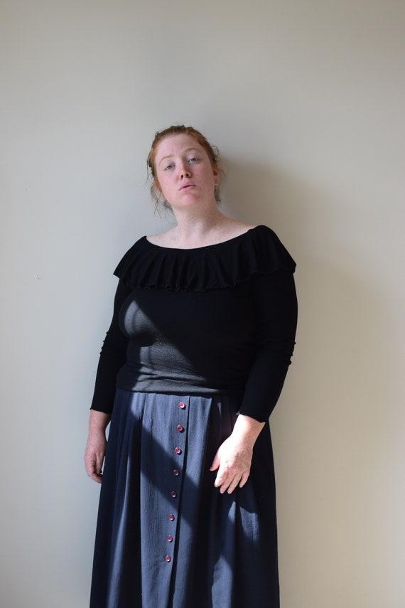 Knit Off Shoulder Top     Multiple Colors